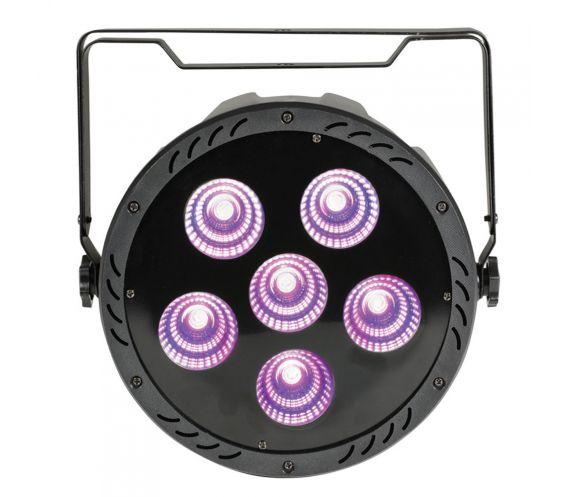 QTX PAR-180 High Power RGB PAR Light with Remote Front