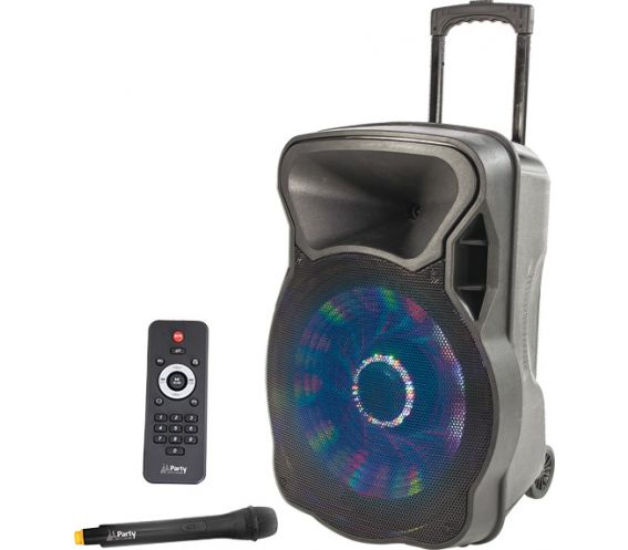 Lotronic 12-inch Party 12LED Portable PA Speaker System