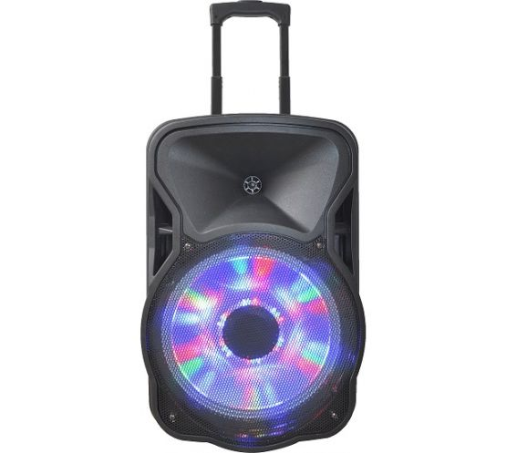 "Party Sound and Light 15""LED Portable Speaker System"
