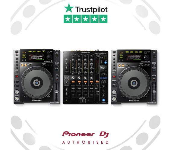 Pioneer CDJ-850K & DJM-750mk2 Pro DJ Package