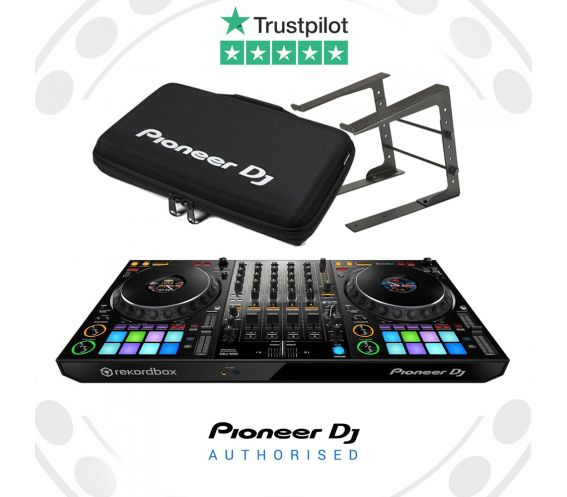 Pioneer DDJ-1000, Laptop Stand, and Carry Bag Package Deal