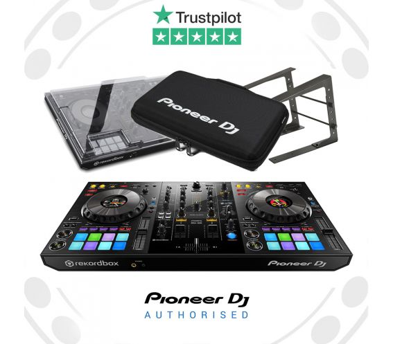 Pioneer DDJ-800, Decksaver, Laptop Stand and Carry Bag Package Deal