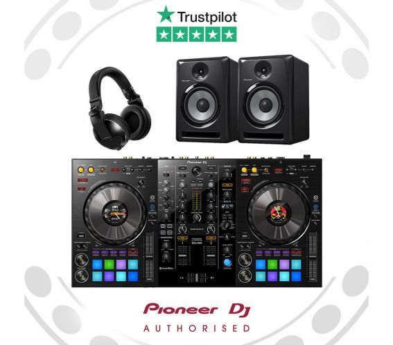 Pioneer DDJ-800 DJ Equipment Bundle