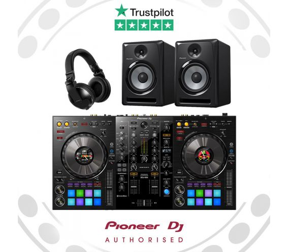 Pioneer DDJ-800 Complete DJ Equipment Package