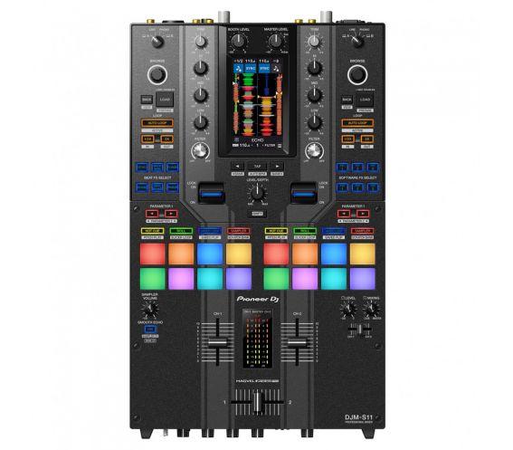 Pioneer DJM-S11 Professional 2-Channel Scratch and Battle DJ Mixer