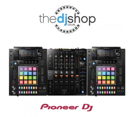 Pioneer DJS-1000 and DJM-750mk2 DJ Equipment Package Main Image Decks and Sampler