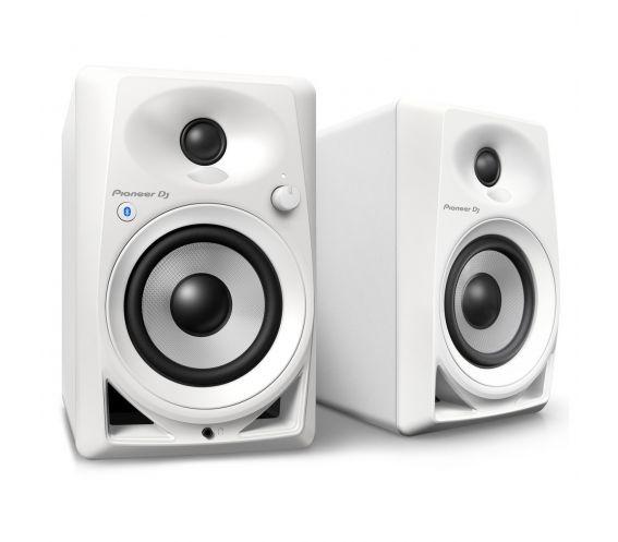 Pioneer DM-40 White Desktop Monitor Speakers