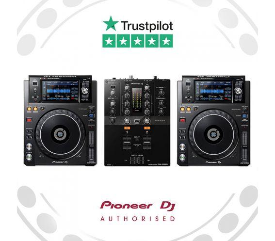 Pioneer XDJ-1000MK2 and DJM-250Mk2 DJ Equipment Package