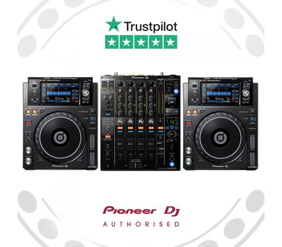 Pioneer XDJ-1000MK2 and DJM-900NXS2 DJ Equipment Package