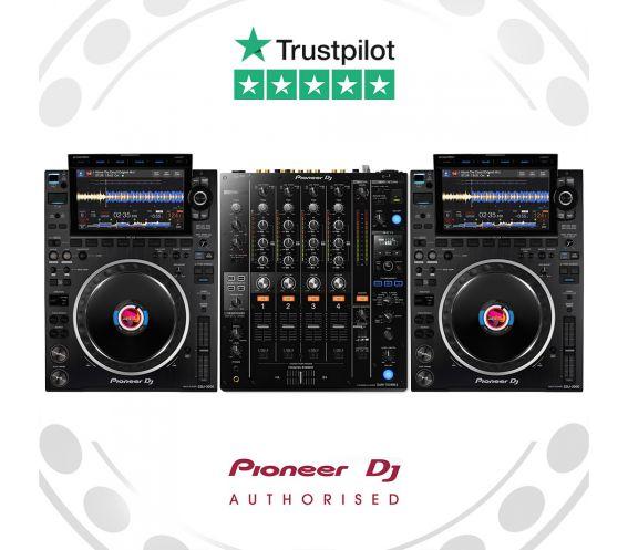 Pioneer CDJ-3000 and DJM-750MK2 DJ Bundle