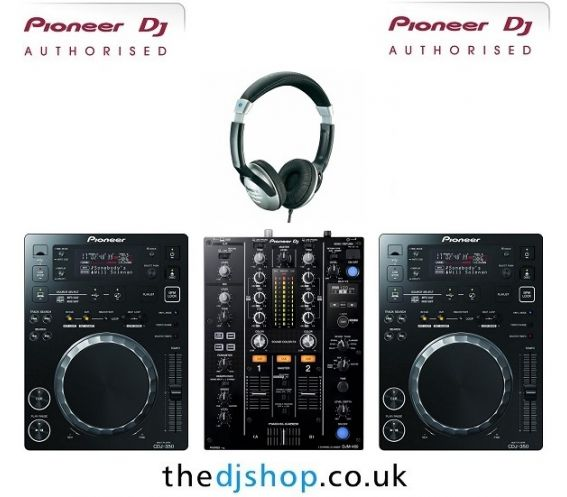 Pioneer CDJ-350 and DJM-450 DJ Equipment Package