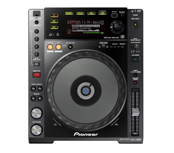 Pioneer CDJ-850K CD MP3 USB Player & Controller