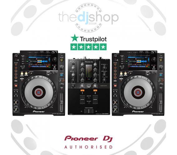 Pioneer CDJ-900NXS and DJM-250MK2 DJ Package
