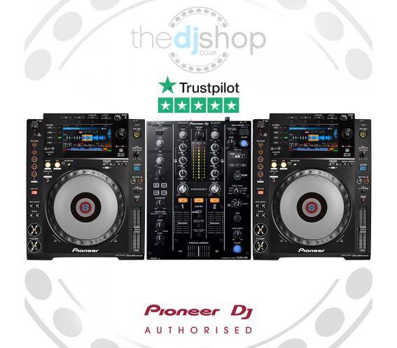 Pioneer CDJ-900NXS and DJM-450 DJ Package