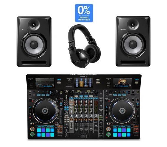 Pioneer DDJ-RZX, S-DJ80X & HDJ-X10 DJ Controller Package