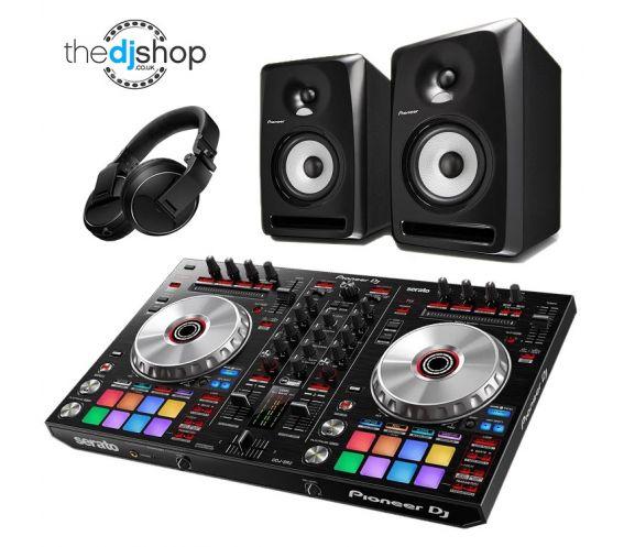 Pioneer DDJ-SR2, S-DJ50X & HDJ-X5 DJ Equipment Package