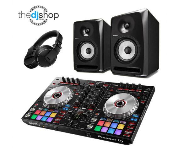 Pioneer DDJ-SR2, S-DJ80X & HDJ-X5 DJ Equipment Package