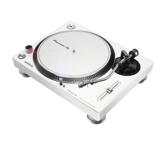 Pioneer PLX-500 Direct Drive Turntable (White)
