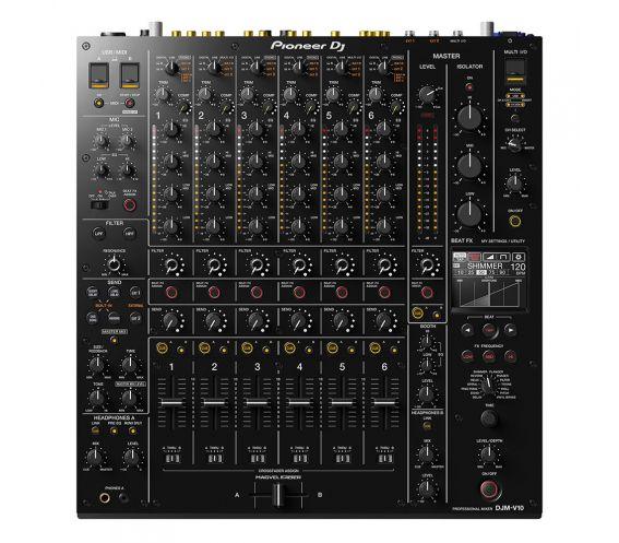 Pioneer DJM-V10 6-channel Club DJ Mixer Top