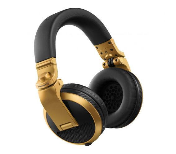 Pioneer HDJ-X5BT-N Bluetooth DJ Headphones (Gold)