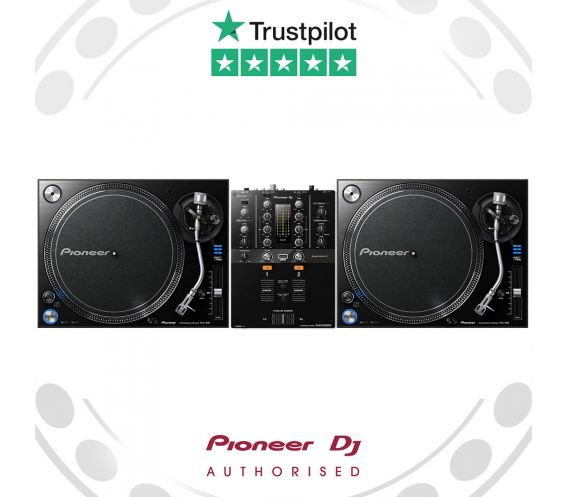 Pioneer PLX-1000 Turntable and DJM-250Mk2 Main Image