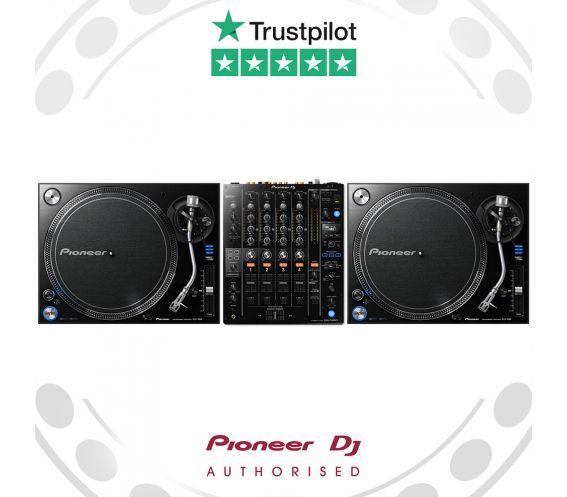 Pioneer PLX-1000 Turntable and DJM-750mk2 Main Image