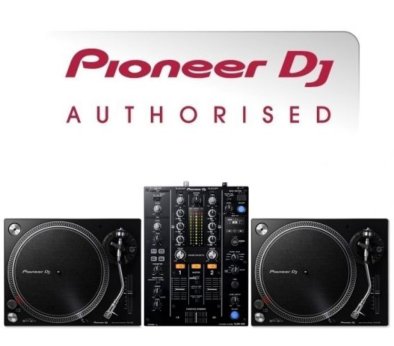 Pioneer PLX-500 Turntable and DJM-450 Mixer Package
