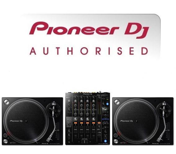 Pioneer PLX-500 Turntable and DJM-750 DJ Equipment Package