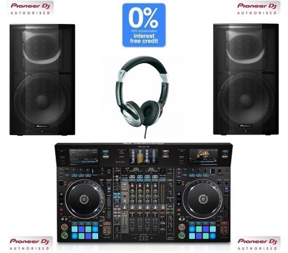 Pioneer DDJ-RZX and XPRS15 DJ Package