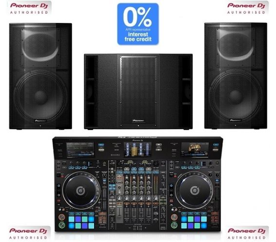 Pioneer DDJ-RZX, XPRS15 and XPRS215S Package