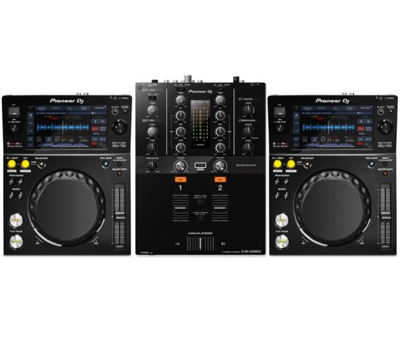 Pioneer XDJ-700 Multiplayer and DJM-250MK2 Package