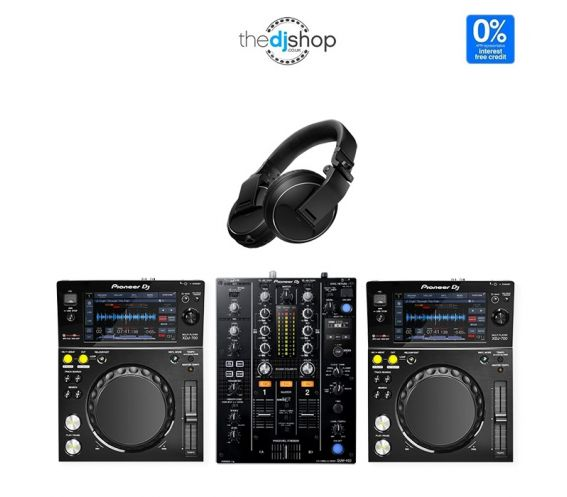 Pioneer XDJ-700 DJ Equipment Package
