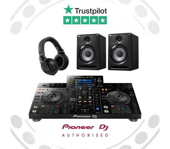 Pioneer XDJ-RX2, S-DJ60X and HDJ-X5 DJ Equipment Package