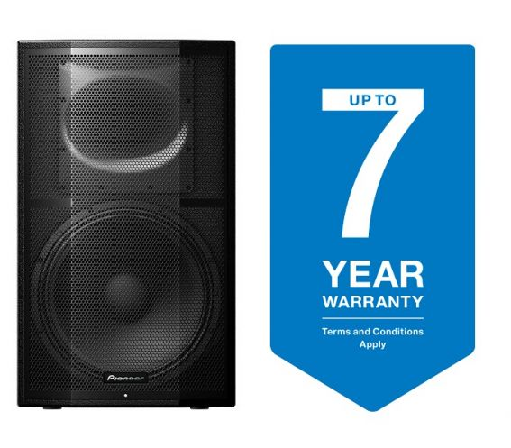 Pioneer XPRS15 Active PA Speaker front