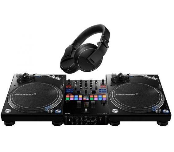 Pioneer PLX 1000 + DJM-S9 + HDJX5 Package