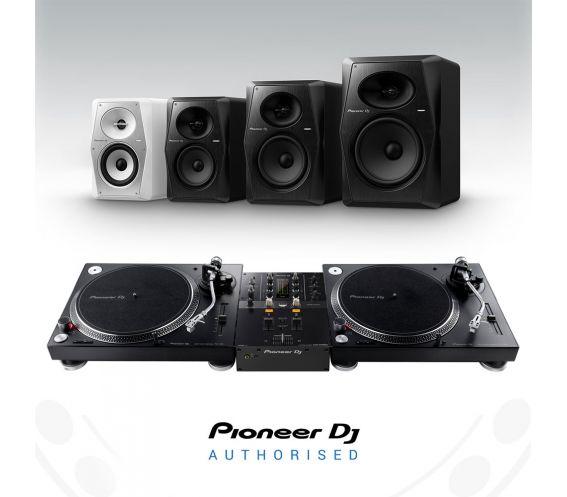 Pioneer PLX-500 Turntable, DJM-250Mk2 and VM Speakers Bundle