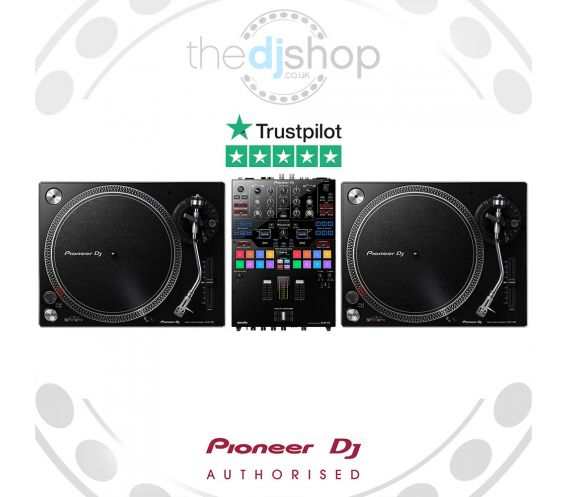 Pioneer PLX-500 Turntable and DJM-S9 Mixer Package