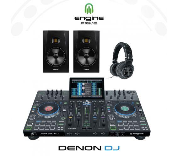 Denon DJ Prime 4 Complete DJ Controller Package Deal