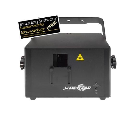 Laserworld Pro-800RGB Laser Front