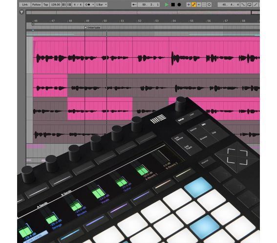 Ableton Live 11 Standard and Push 2 Music Production Bundle