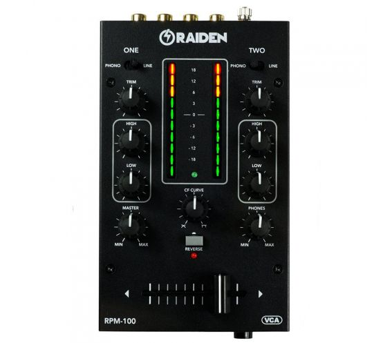 Raiden Fader RPM-100 Portable DJ Mixer Main