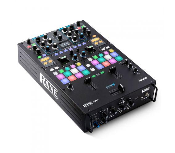 Rane Seventy Battle Serato DJ Mixer Top Side View