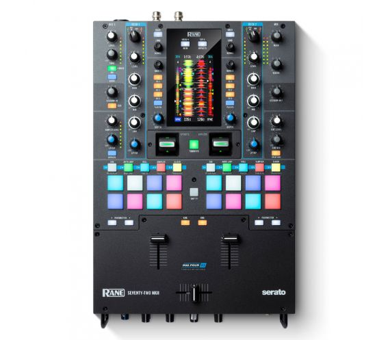RANE Seventy-Two MKII Top View