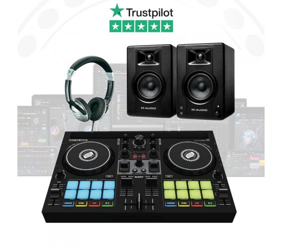 Reloop BUDDY DJ Controller Package Deal