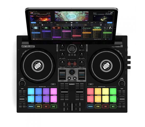 Reloop BUDDY 2-Channel DJ Performance Controller