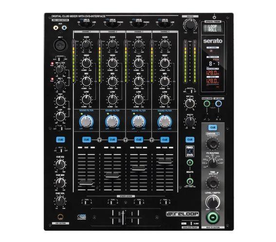 Reloop RMX-90 DVS DJ Mixer Top View