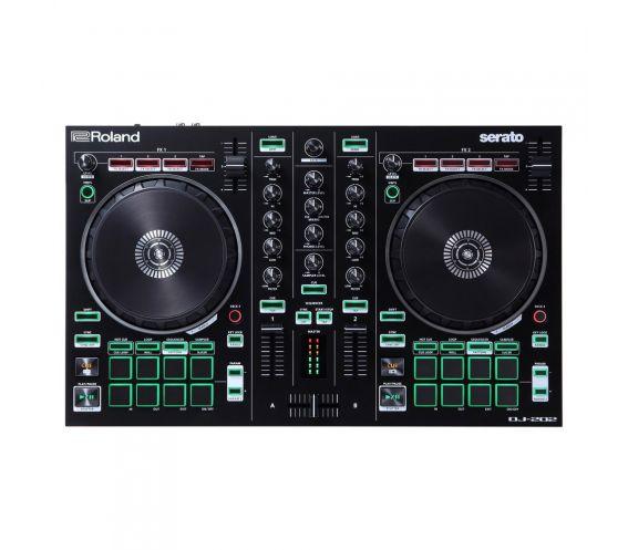 Roland DJ-202 Top Angle
