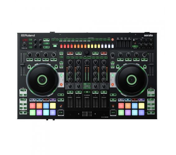 Roland DJ-808 Top View