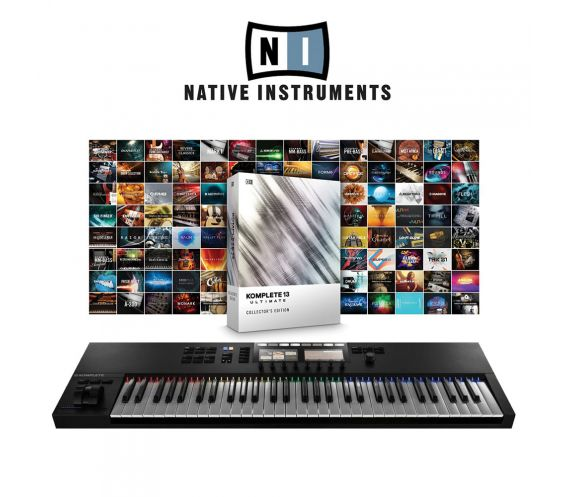 Native Instruments S61MK2 & Komplete 13 Ultimate Collectors Edition Main
