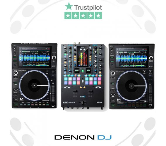 Denon DJ SC6000M & RANE Seventy-Two MKII DJ Equipment Package